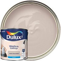 Dulux Matt Emulsion Paint Malt Chocolate 2.5L