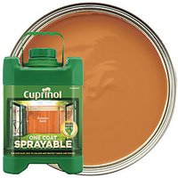 Cuprinol One Coat Sprayable - Autumn Gold 5L