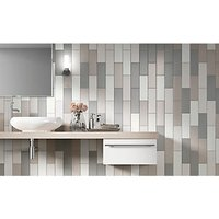 Wickes Twilight Taupe Ceramic Wall Tile 300 x 100mm