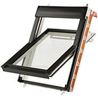 Keylite Centre Pivot Roof Window 550mm X 780mm White