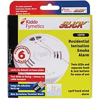 Kidde 1SFW Slick Ionisation Smoke Alarm