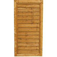 Wickes Traditional Overlap Timber Gate - 915 x 1815 mm