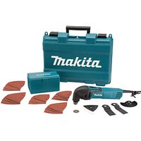 Makita 320W Multi-Tool With 42 Piece Accessory Kit 110V TM3000CX4/1