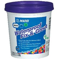 Mapei Waterproof Fix & Grout for Walls White 1.5kg