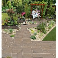 Marshalls Heritage Riven Weathered Yorkstone 600 x 300 x 38mm Paving Slab - Pack of 44