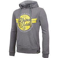 Rhino Men's Extra Large Lightweight Grey Cotton Hoodie