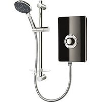 Trition Style 9.5kW Electric Shower Black Gloss Effect