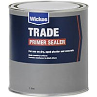 Wickes Trade Primer Sealer - 1L