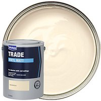 Wickes Trade Vinyl Matt Emulsion Paint - Magnolia 5L