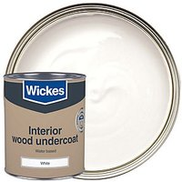 Wickes Colour @ Home Water-Based Primer Undercoat Paint - White 750ml