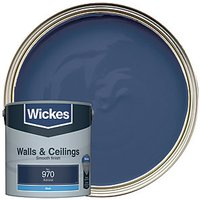 Wickes Colour @ Home Vinyl Matt Emulsion Paint - Admiral 2.5L