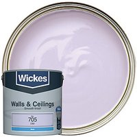 Wickes Colour @ Home Vinyl Matt Emulsion Paint Lilac 2.5L