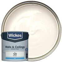 Wickes Colour @ Home Vinyl Matt Emulsion Paint - Porcelain 2.5L