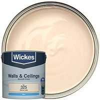 Wickes Colour @ Home Vinyl Matt Emulsion Paint - Skinny Latte 2.5L