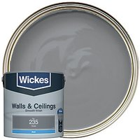 Wickes Colour @ Home Vinyl Matt Emulsion Paint - Slate 2.5L