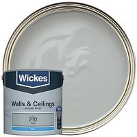 Wickes Colour @ Home Vinyl Matt Emulsion Paint - Steel 2.5L