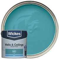 Wickes Colour @ Home Vinyl Matt Emulsion Paint - Teal 2.5L