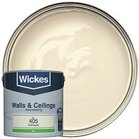 Wickes Colour @ Home Vinyl Silk Emulsion Paint - Champagne 2.5L
