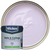 Wickes Colour @ Home Vinyl Silk Emulsion Paint - Lilac 2.5L