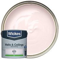 Wickes Colour @ Home Vinyl Silk Emulsion Paint - Blush 2.5L
