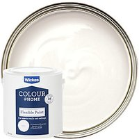 Wickes Colour @ Home Flexible Ceiling Emulsion Paint - Brilliant White 5L