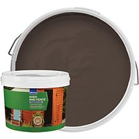 Wickes Shed & Fence Timbercare - Light Brown 9L