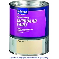 Wickes Cupboard Paint - Champagne 750ml