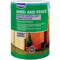Wickes Water Repellent Timbercare - Chestnut Brown 5L