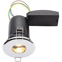 Wickes Chrome LED Fire Rated IP65 Bathroom Downlight - 6W