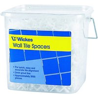 Wickes Wall Tile Spacers 2.5mm 3000 Pack
