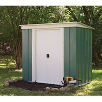 Rowlinson Metal Pent Shed without Floor - 6 x 4 ft