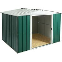 Rowlinson Metal Apex Shed with Floor - 10 x 8 ft