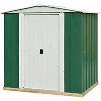 Rowlinson Metal Apex Shed with Floor - 6 x 5 ft