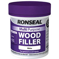 Ronseal Multi Purpose Wood Filler White 250g