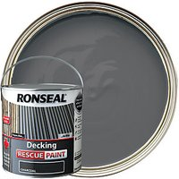 Ronseal Decking Rescue Paint - Charcoal 2.5L
