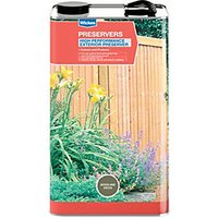 Wickes High Performance Exterior Preserver - Woodland Green 5L