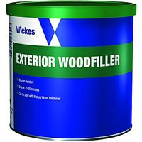 Wickes Super Tough Wood Filler 550g