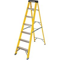 Youngman GRP 7 Tread Heavy Duty Fibreglass Stepladder