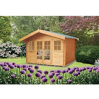 Shire Clipstone Log Cabin 12x12