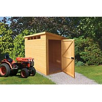 Wickes Security Timber Pent Shed - 6 x 10 ft
