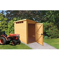 Wickes Security Timber Pent Shed - 8 x 10 ft