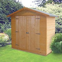 Wickes Shiplap Timber Giant Store Honey Brown - 6 x 3 ft