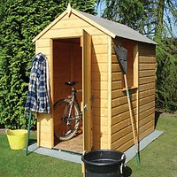 Wickes Small Shiplap Garden Shed - 4 x 6 ft