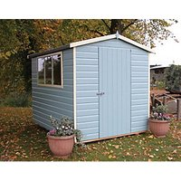 Wickes Easy Assembly Timber Shiplap Apex Shed - 6 x 8 ft