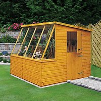 Wickes Stable Door Pent Potting Shed - 8 x 6 ft