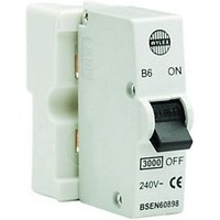 Wylex Type B Plug-In Mini Trip Circuit Breaker 6 Amp