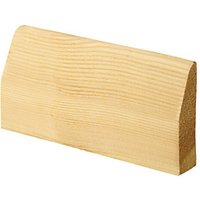 Wickes Chamfered Pine Architrave 20.5 x 69 x 2100mm Pack 5