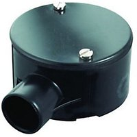Wickes 1 Way Terminal Junction Box Black 25mm