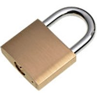 Wickes Padlock Brass 40mm