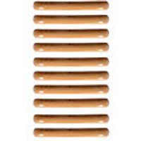 Wickes Unvarnised Beech Pull Handles 110mm 10 Pack